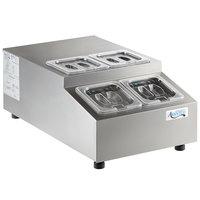 Avantco CPT-15-HC 15 inch Countertop Refrigerated Prep Rail
