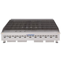 Bakers Pride BPHCB-2460i Natural Gas 60 inch Heavy-Duty Radiant Charbroiler - 200,000 BTU