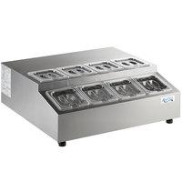Avantco CPT-28-HC 28 inch Countertop Refrigerated Prep Rail