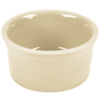 Homer Laughlin 568330 Fiesta Ivory 8 oz. Ramekin - 6/Case