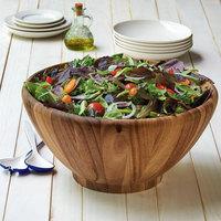 16 inch Acacia Wood Salad Bowl