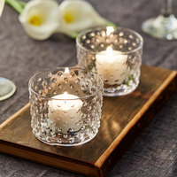 Acopa 7.5 oz. Hobnail Glass Bowl / Votive - 12/Case