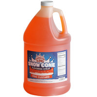 Carnival King 1 Gallon Egg Custard Snow Cone Flavoring Syrup - 4/Case