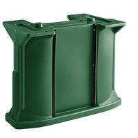 Cambro C10011519 Green Versa Bar / Table Leg Kit with (1) Standard Height Leg / (2) Decor Panel Rails