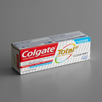 Colgate Total SF CPC45986 Clean Mint Toothpaste 0.88 oz. Tube - 24/Case
