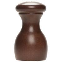 Fletchers' Mill MAR03SS12-14 Marsala 3 inch Walnut Stain Salt Shaker
