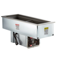 Delfield N8146NBP Narrow Two Pan Drop In Refrigerated Cold Food Well