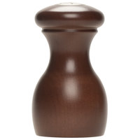 Fletchers' Mill MAR03PS12-14 Marsala 3 inch Walnut Stain Pepper Shaker
