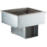 Delfield N8130BP Two Pan Drop In Refrigerated Cold Food Well