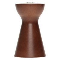 Fletchers' Mill TRO03PS12-14 Tronco 3 inch Walnut Stain Pepper Shaker