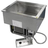 Delfield N8669P Five Pan Drop-In Cold / Hot Food Well