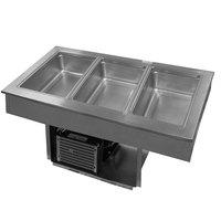 Delfield 8145-EFP Three Pan Drop In LiquiTec Refrigerated Cold Food Well