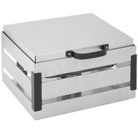 Walco CR4B Crate 4 Qt. Stainless Steel Chafer