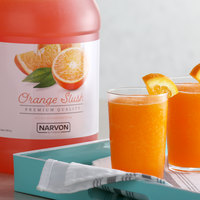 Narvon 1 Gallon Orange Slushy Syrup