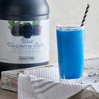 Narvon 1 Gallon Blue Raspberry Slushy Syrup