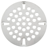 Regency 3 1/2 inch Flat Strainer for Twist / Lever Handle Valve Drains