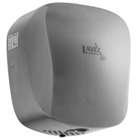 Lavex Janitorial Stainless Steel High Speed Automatic Hand Dryer with HEPA Filtration - 110-130V, 1450W