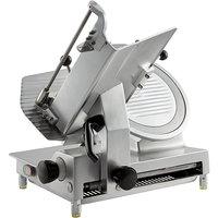 Avantco SL713MAN 13 inch Medium-Duty Manual Gravity Feed Meat Slicer - 1/2 hp