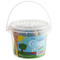 Choice 100-Count Bulk School Crayon Bucket
