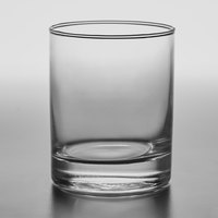 Acopa 12 oz. Straight-Sided Double Rocks / Old Fashioned Glass   - 12/Case