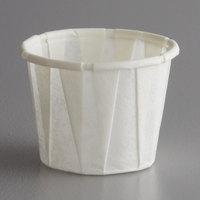 Genpak F050 Harvest Paper .5 oz. Compostable Souffle / Portion Cup - 5000/Case