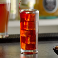 Acopa Straight-Sided 7 oz. Highball Glass - 12/Case