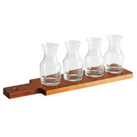 Acopa Dual-Sided Tray with (4) 6 oz. Carafes