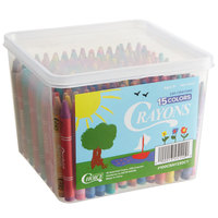 Choice 230-Count Bulk School Crayon Bucket