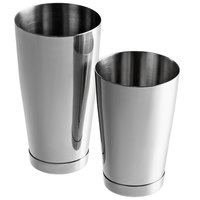 Barfly M37082 28 oz. & 18 oz. The Double 2-Piece Heavyweight Stainless Steel Shaker Tin Set