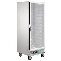 Metro C5E9-CFC-U C5 E Series Non-Insulated Heated Holding and Proofing Cabinet - 120V, 2000W