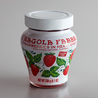 Fabbri 8 oz. Candied Wild Strawberries in Glass Jar