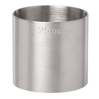 Barfly M37050 25 mL (0.85 oz.) Stainless Steel Thimble Measure