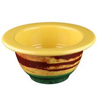 Elite Global Solutions V73 Cantina 30 oz. Multi-Color Melamine Bowl