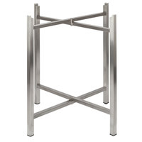 Bon Chef 50401 Flex-X 30 inch Foldable Stainless Steel Table Bar Height Base
