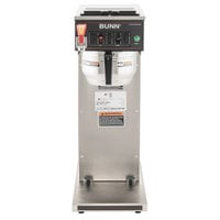 Bunn 23001.0052 CWTF35-APS Airpot Brewer with Gourmet Funnel and Hot Water Faucet - 120/208-240V