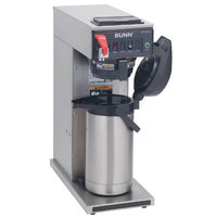 Bunn CWTF35-APS Airpot Brewer with Gourmet Funnel and Hot Water Faucet 120/208-240V (Bunn 23001.0052)