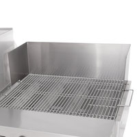 Bakers Pride 21841023 60 inch Ultimate Outdoor Charbroiler Dual Purpose Wind and Splash Guard