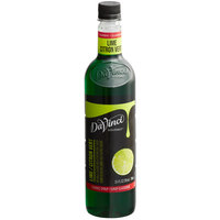 DaVinci Gourmet 750 mL Classic Lime Flavoring / Fruit Syrup