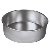 American Metalcraft 3808 8 inch x 3 inch Aluminum Round Cake Pan
