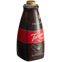 Torani 64 oz. Puremade Dark Chocolate Flavoring Sauce