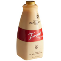 Torani 64 oz. Puremade White Chocolate Flavoring Sauce