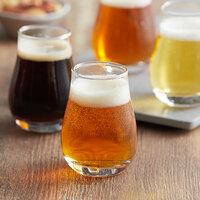 Acopa 4 oz. Tulip Beer Tasting Glass - 4/Pack