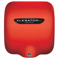 Excel XL-SP-ECO-RED XLERATOReco® Red Baron Energy-Efficient High-Speed Hand Dryer - 110 / 120V, 500W