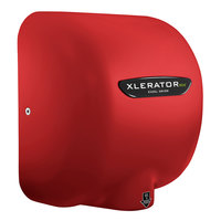 Excel XL-SP-ECO-RED XLERATOReco® Red Baron Energy Efficient No Heat High-Speed Hand Dryer - 110 / 120V, 500W