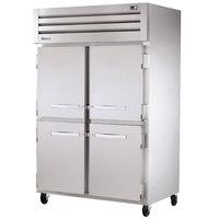True STA2R-4HS Specification Series 52 inch Four Solid Half Door Reach In Refrigerator - 56 Cu. Ft.