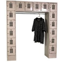 Winholt WL-16/CB Garment / 16 Person Locker - 72 inch x 18 inch