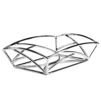 Delfin BK-96EM Element 9 inch x 6 inch Rectangle Chrome Wire Basket
