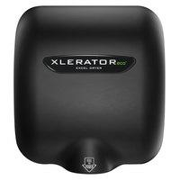Excel XL-SPV-ECO-RB XLERATOReco® Raven Black Energy-Efficient High-Speed Hand Dryer - 208 / 277V, 500W