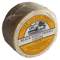 Carr Valley Cheese Company 12 lb. Black Sheep Truffle Cheese Wheel