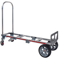 Magliner GMK81UAE Gemini Sr. 2-in-1 500 lb. Convertible Hand Truck with 10 inch Interlocked Microcellular Foam Wheels and U-Loop Handle